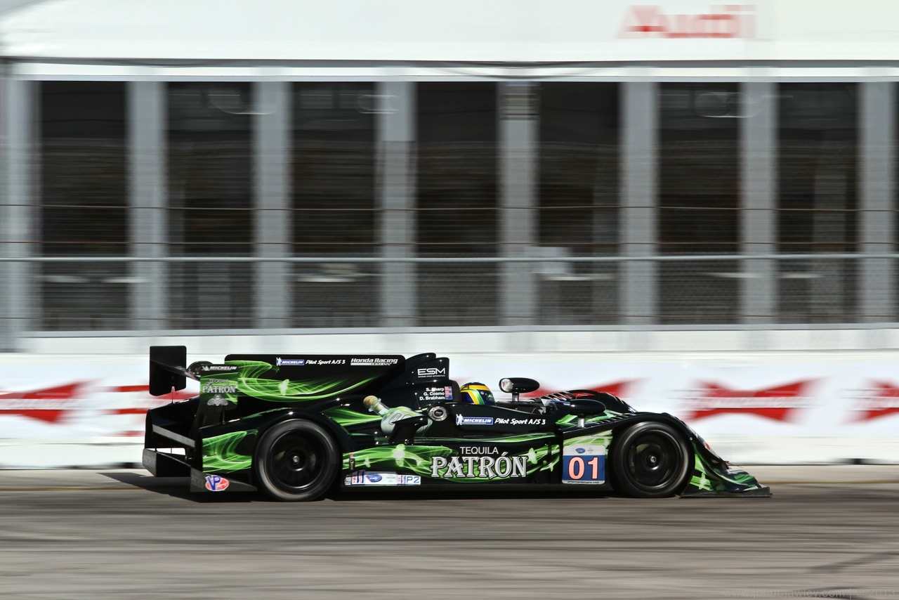 ESM PATRÓN LEADS LAPS AT SEBRING WITH NEW P2 RACE CAR