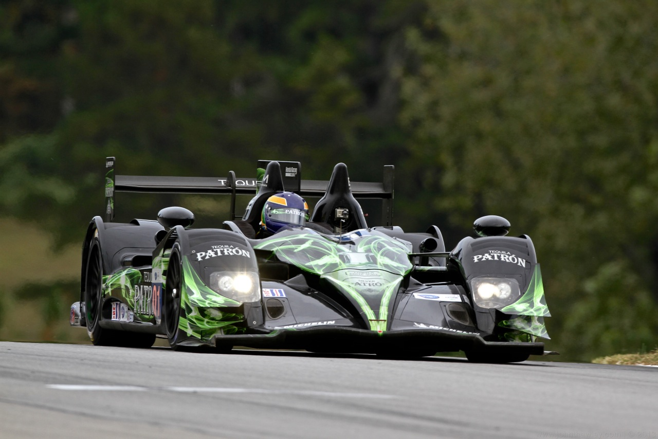 Petit Le Mans P2 Pole for ESM Patrón
