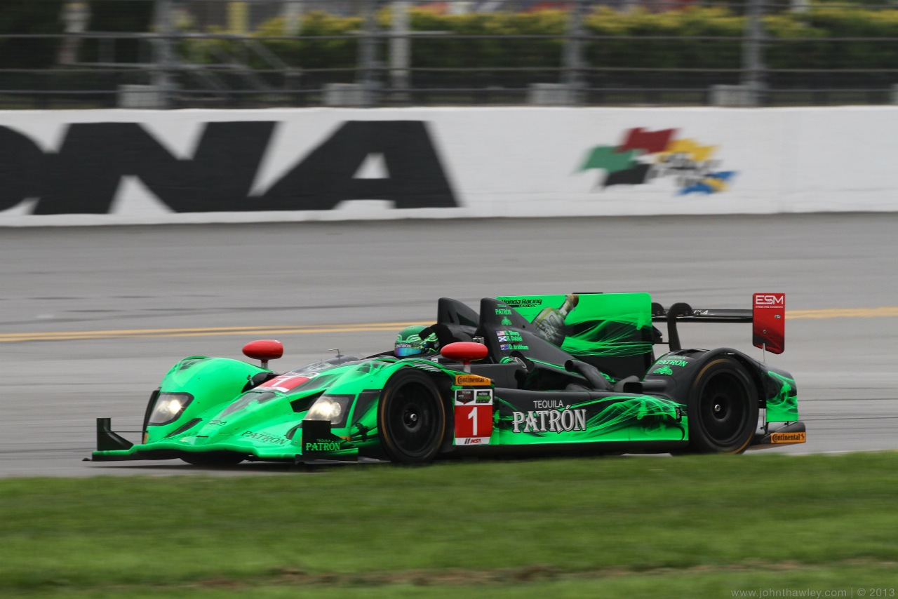 ESM Patrón Quickest of LMP2-Spec Cars at Roar Before Rolex 24 Test