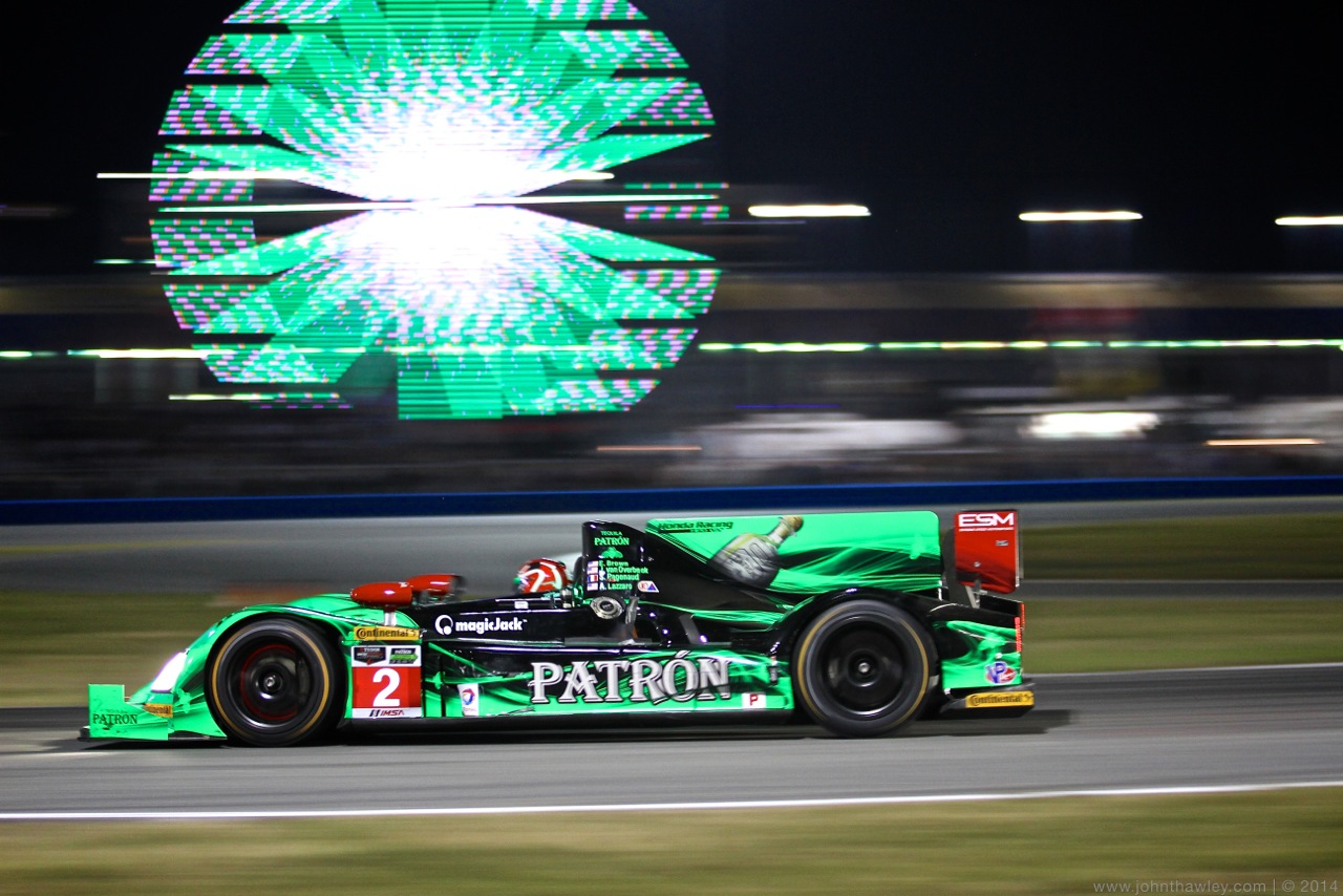Opening Hours of Rolex 24 Unkind to ESM Patrón Team