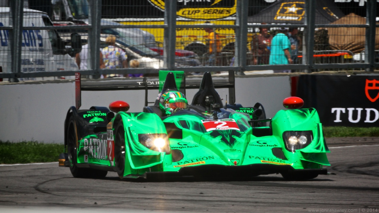 Fifth and Seventh Place Finishes for ESM Patrón in Indy Debut