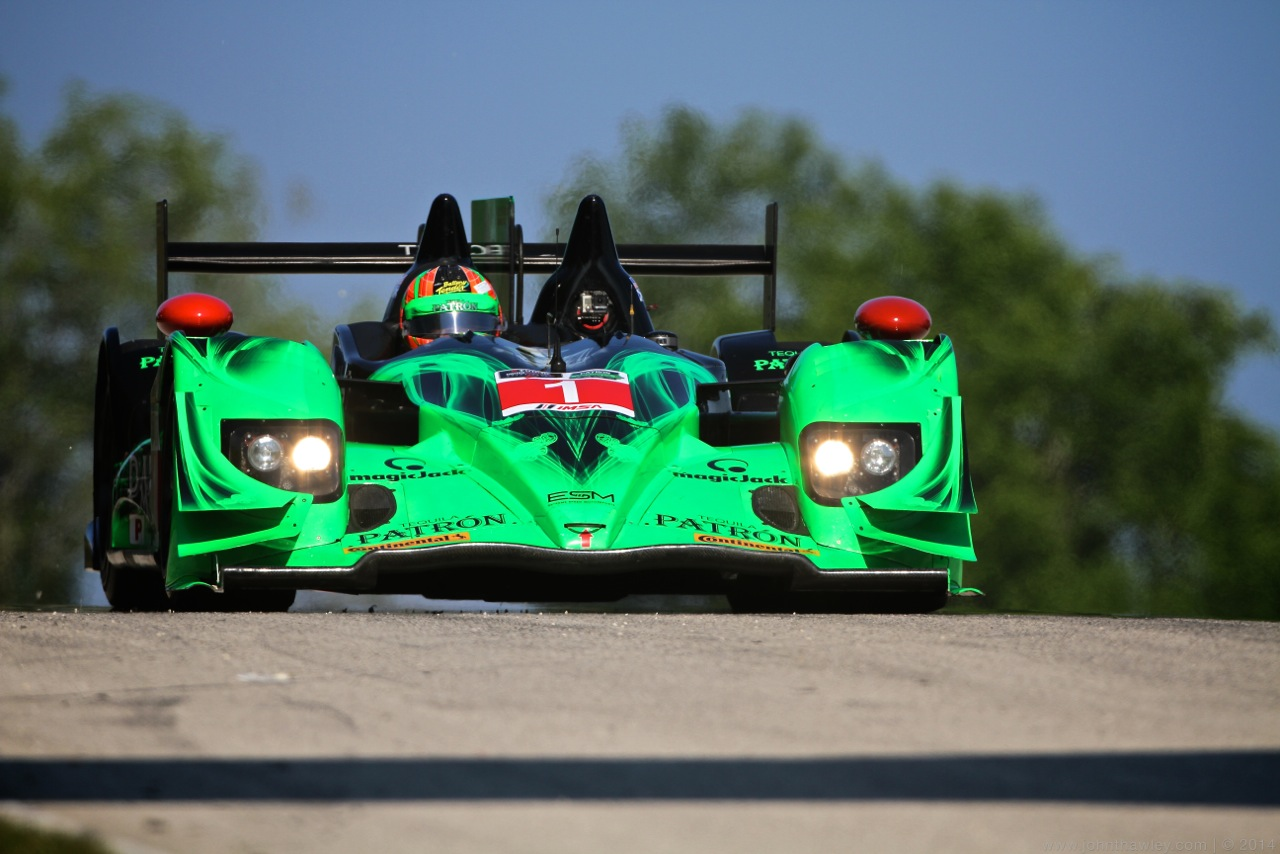 Pole for ESM Patrón at Road America