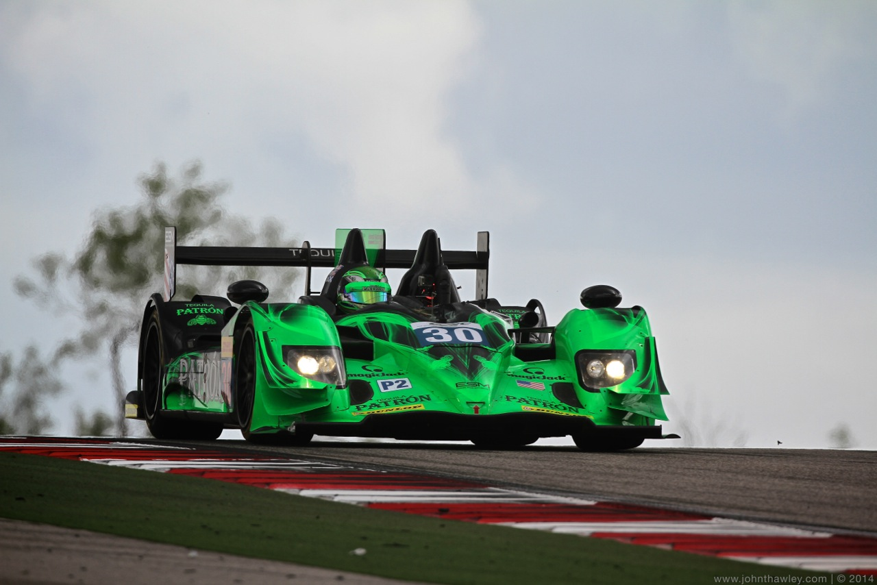 ESM Patrón Qualifies Third in Debut FIA WEC Race in Austin