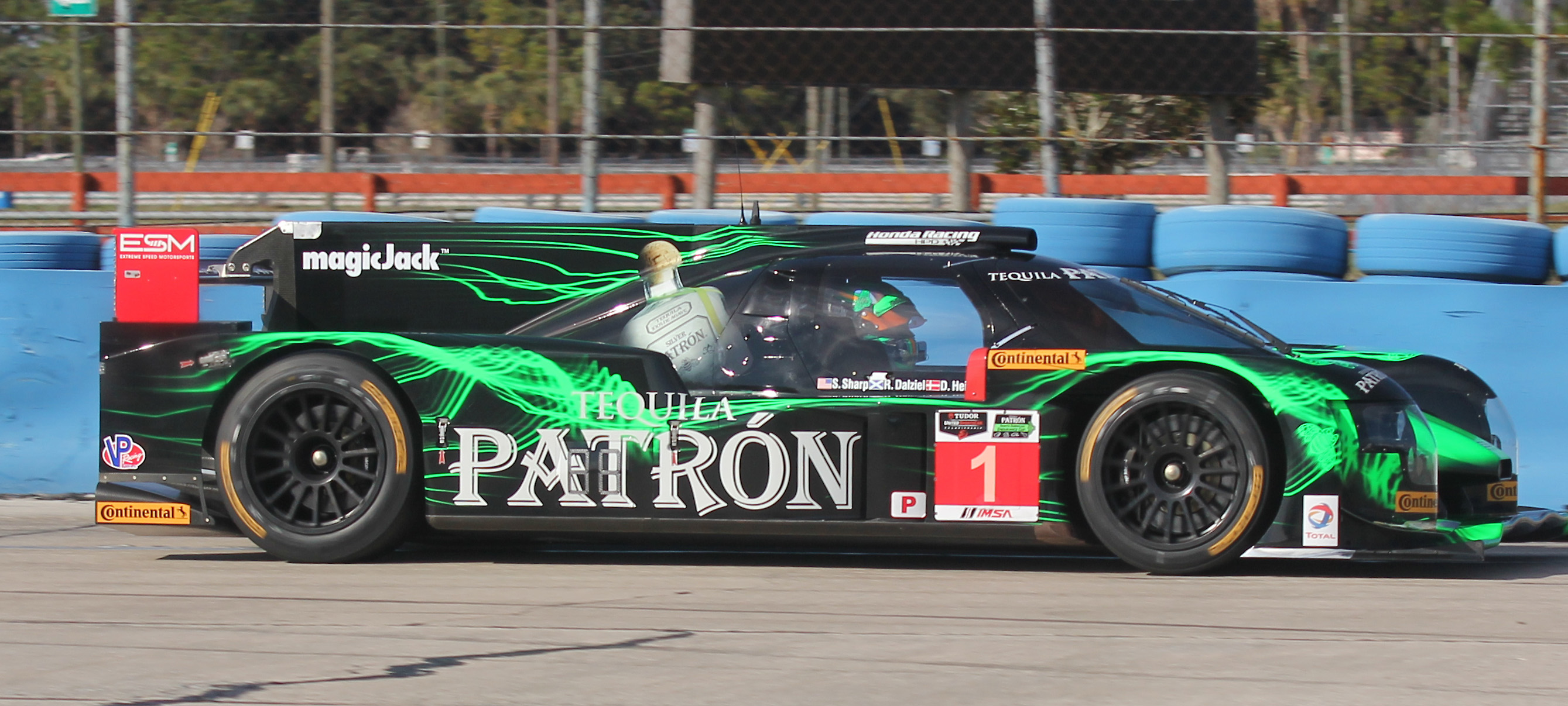 Tequila Patrón ESM's 2015 Worldwide Season Starts at Home and the Rolex 24