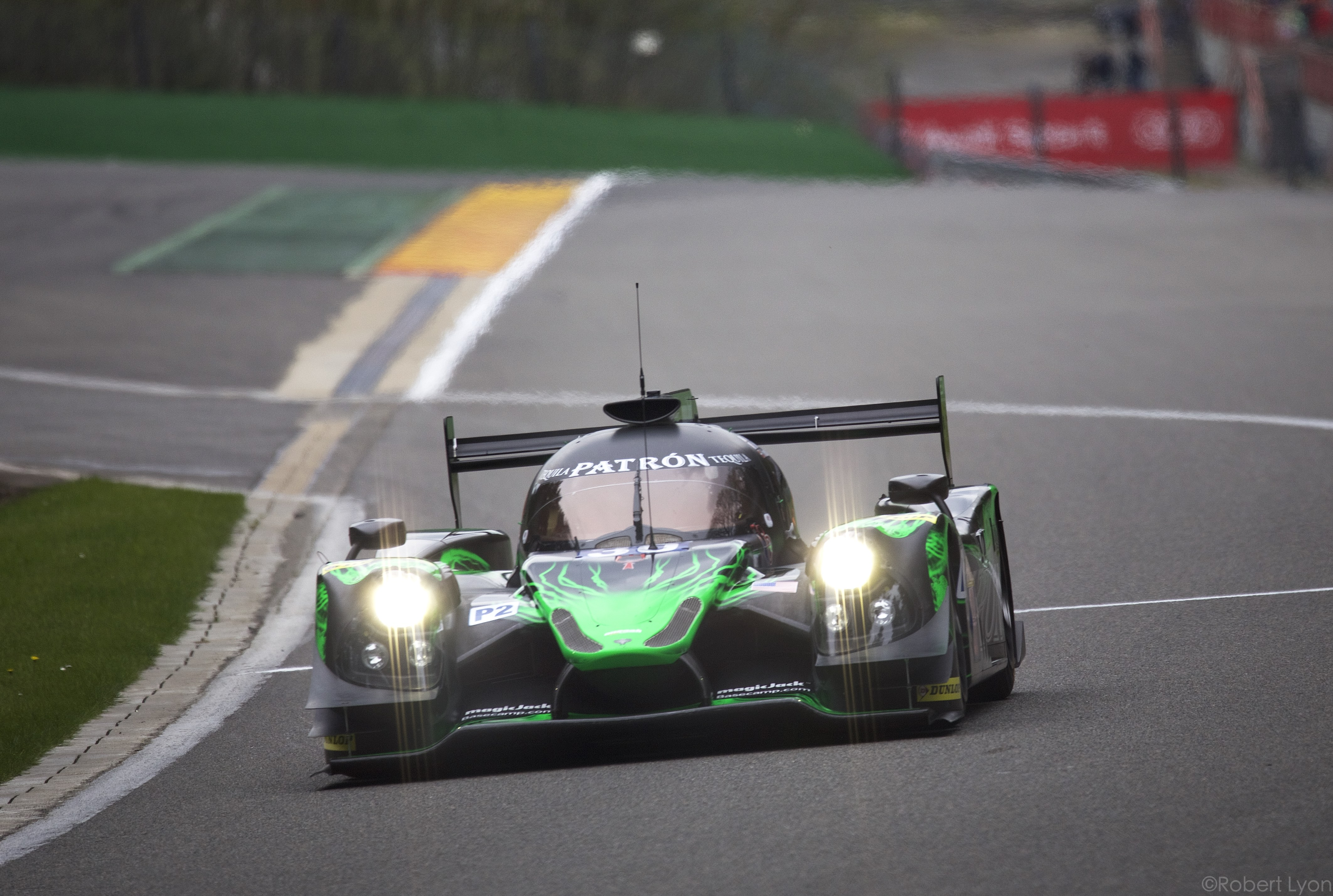Tequila Patrón ESM Qualifies for Spa