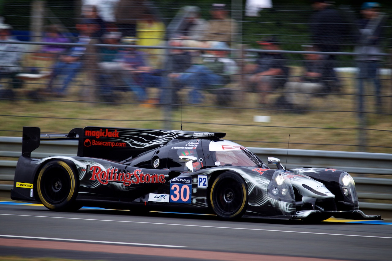 Tequila Patrón ESM Logs First Competitive Laps at Le Mans