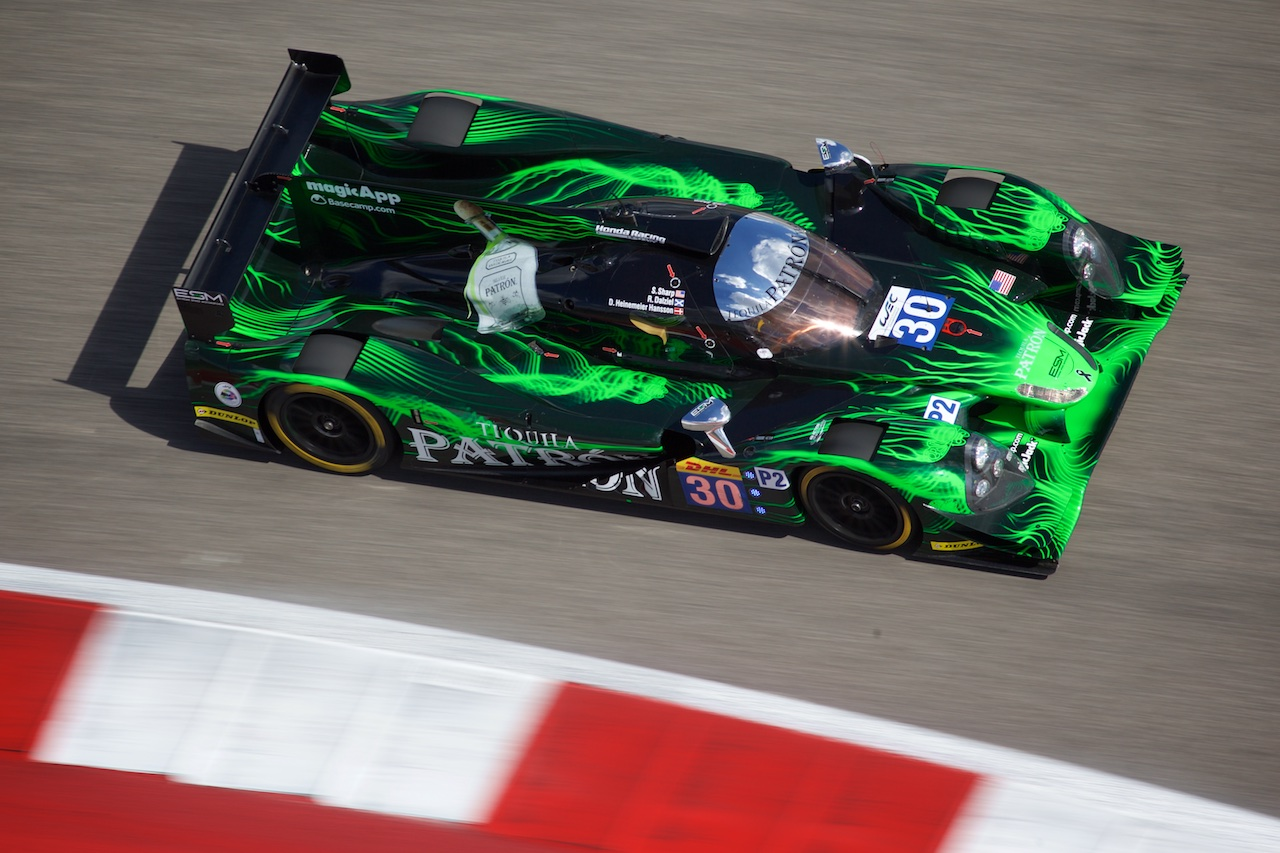 Tequila Patrón ESM Qualifies Third at COTA