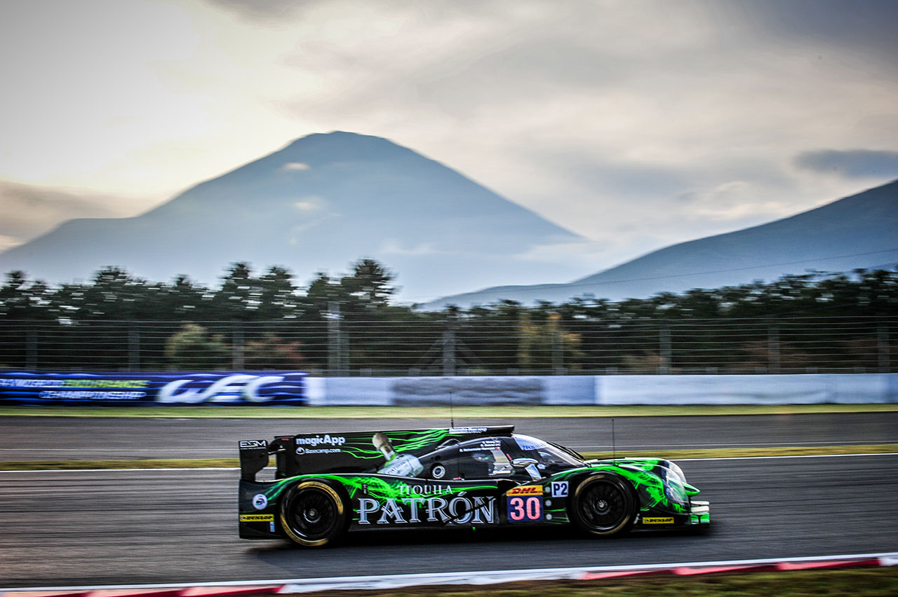Fourth Place Finish for Tequila Patrón ESM at Fuji