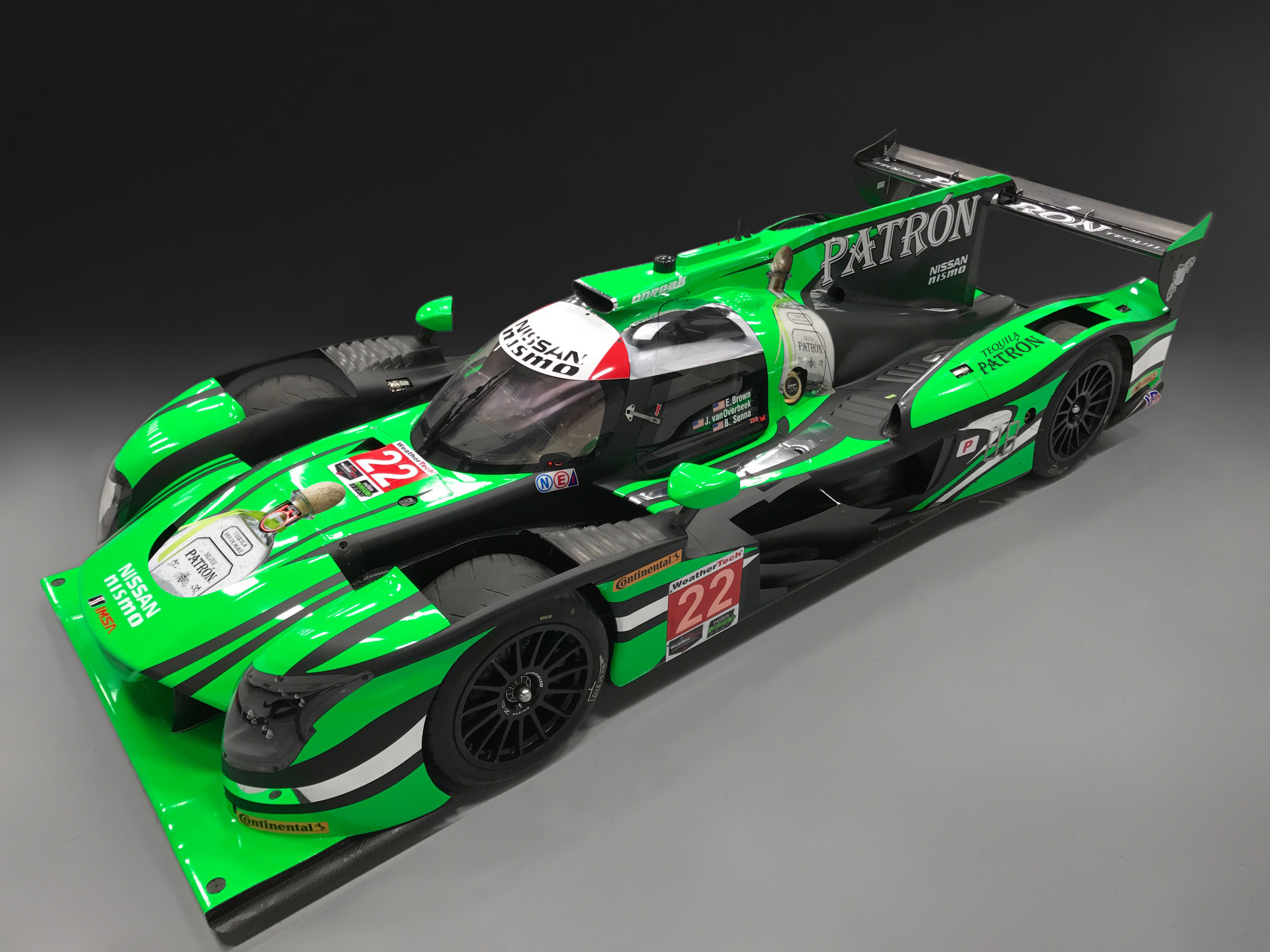 Tequila Patrón ESM Debuts 2017 Liveries for Nissan Onroak DPi Machines