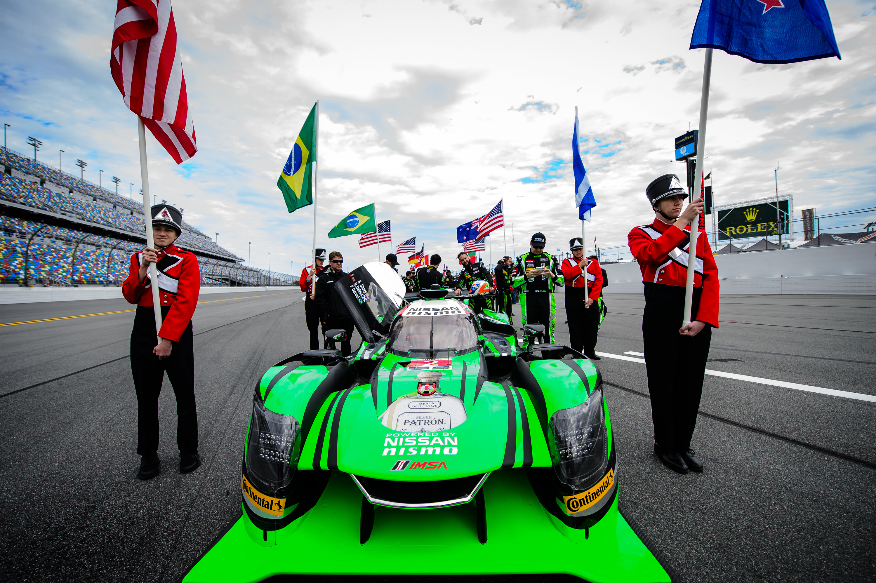 Tequila Patrón Debuts DPi Program with Top Five Finish at Rolex 24